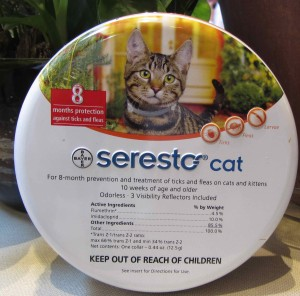 Seresto is another flea collar available at Animal Medical of New City