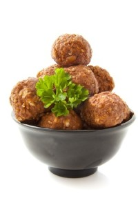 If you're going to share the Thanksgiving love with your dog or your cat, control the portions :) These meatballs are made with ingredients that are unlikely to upset your dog or cat's tummy. Serve no more than one or two meatballs per day, depending on your pet's size